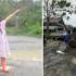 Dari Model Cilik Foto di Jalan Rusak, Hingga Keprihatinan Babinsa Timbun Jalan
