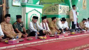 Pemkab Dan Kodim Kerinci Peringati  Isra' Mi'raj