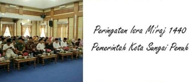 Photo of Pemkot Peringati Isra Mi'raj Nabi Besar Muhammad SAW 1440 H