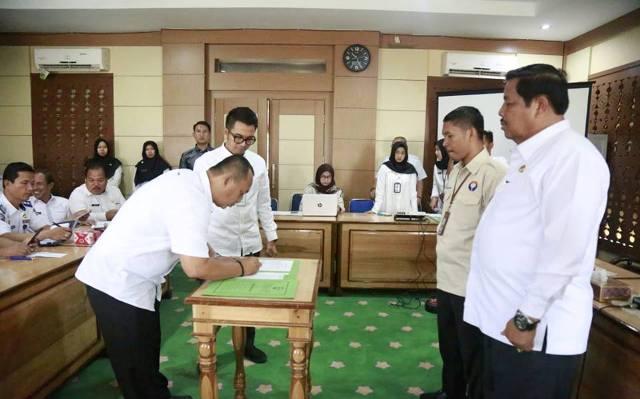 Komitmen Peningkatan Pelayanan Publik, Pemkot - Ombudsman Tandatangani MoU