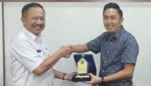 Fikar Azami Ketua DPRD Kota Sungai Penuh saat Kunjungan di Kota Depok
