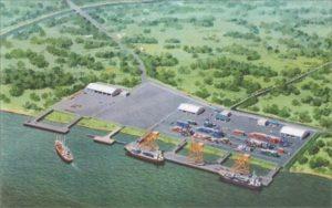 Desaign Rencana Pelabuhan Ujung Jabung