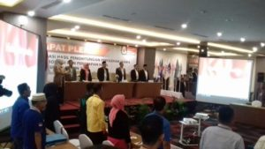 Pleno KPU Provinsi Jambi dapil Jambi