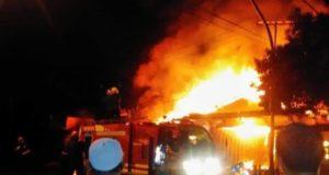 Kebakaran di Kumun Mudik Kota Sungai Penuh