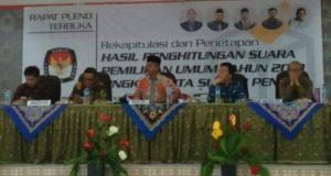 Pleno KPU Kota Sungai Penuh
