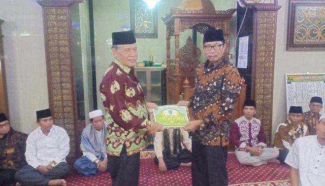 Safari Ramadhan Pemkot di Masjid Nurul Huda Lawang Agung