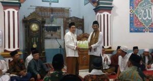 Wako AJB Saat Safari Ramadhan Ke Masjid Nurul Hilal Dujung Sakti