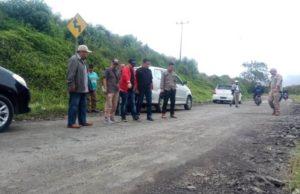 LSM Perisai Kobra, BPJN Jambi Cek Pekerjaan Fisik Jalan Nasional di Kerinci
