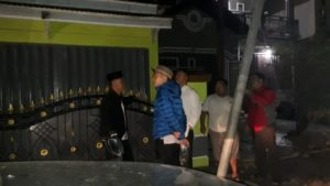 Fikar Azami Ketua DPRD Kota Sungai Penuh Cek PJU