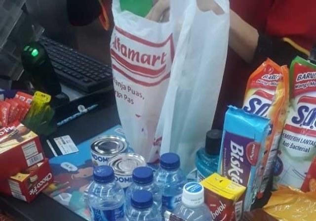 Kantong Plastik Alfamart