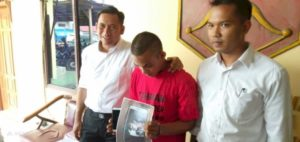 Dian Sanjaya (22) warga Jalan H Adam Malik, Kelurahan Handil Jaya, Kecamatan Jelutung, Kota Jambi menyebarkan foto-foto bugil.