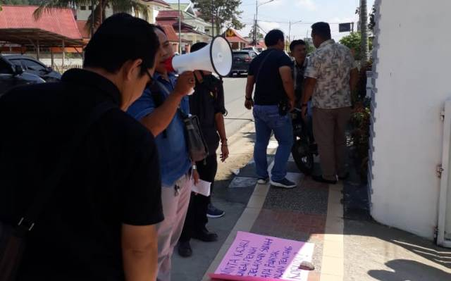 Gabungan LSM Kerinci - Sungai Penuh Desak Kejari Usut 16 Paket PUPR Sungai Penuh