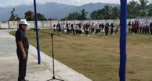 Wali Kota Sungai penuh Asafri Jaya Bakri membuka secara resmi Pekan Olahraga Pelajar Kota Sungai Penuh 2019
