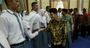 Wako AJB Lepas Calon Anggota Paskibraka Ketingkat Nasional dan Provinsi.