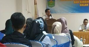 Walikota H. Asafri Jaya Bakri pada saat pelatihan kewirausahaan