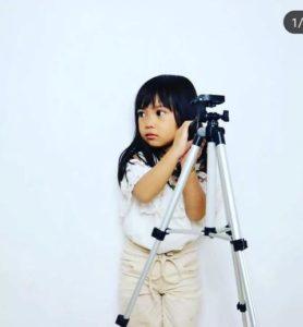 Ziya Si Model Cilik Berperan Sebagai Puti Karadoik