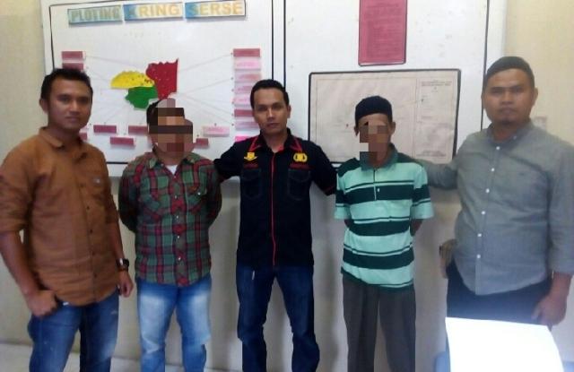 Dua Orang Warga Sungai Tutung Kerinci Ditangkap Polisi