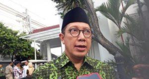 Menteri Agama Lukman Hakim Saifuddin di Istana Bogor. (Suara.com/Ummi H.S).