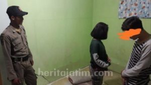 Sepasang Pelajar Tertangkap Asik Berduan di Kamar Kos