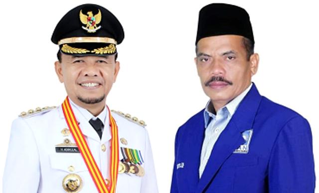 Adirozal Bupati Kerinci dan Saiful Efrijal