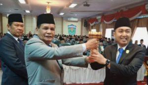 Aspar Nasir Pimpinan Sementara DPRD Sungai Penuh