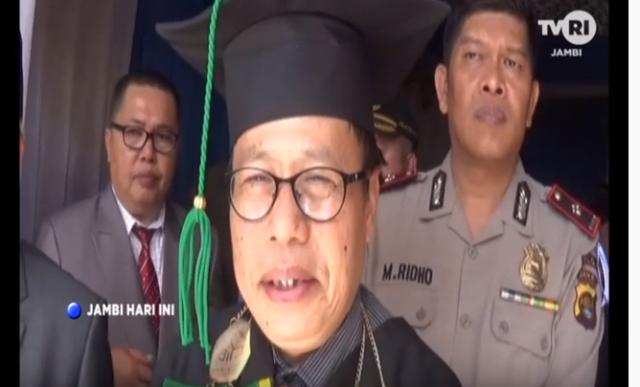 Dr. Y Sonafist, M.Ag, Rektor IAIN Kerinci
