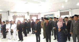 Pelantikan 57 orang Pejabat Kabupaten Kerinci