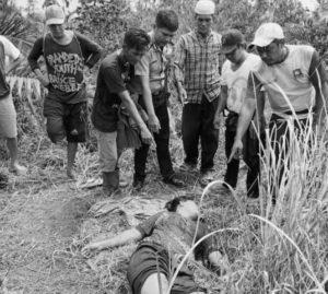 Wanita dibunuh di Sabak, pelaku diduga ganguan jiwa. Foto: Jambidaily.com