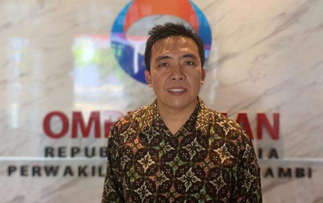 Dr Jafar Ahmad SAg, Msi, Kepala Perwakilan Ombudsman RI Jambi