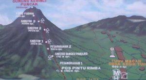 Jalur Pendakian Gunung Kerinci