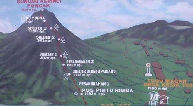 Photo of Anggi Putri Mahasiswi Asal Padang Dikabarkan Pingsan di Shelter 2 Gunung Kerinci