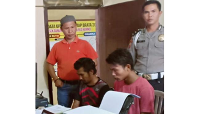 Polisi Ciduk 3 Pelaku Pencurian Motor