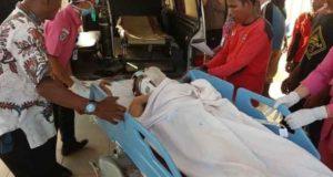 Petugas Manggala Agni Muarabulian saat di Rumah Sakit. Foto: Rizki/Jambiseru.com