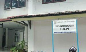 Kantor ULP Kabupaten Kerinci