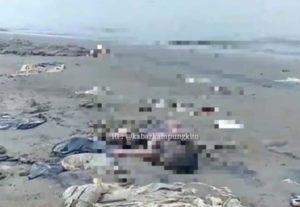 Warga Teluk Kenali temukan jasad bayi di pinggir Sungai Batanghari. Foto: Instagram/Kabarkampungkito