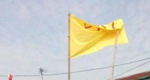 Bendera tulisan PKI. (Ist)
