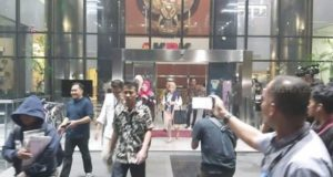 Suasana di Gedung KPK. (Suara.com)