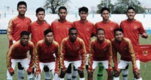 Starting XI Timnas Indonesia U-16. [Laman resmi PSSI]