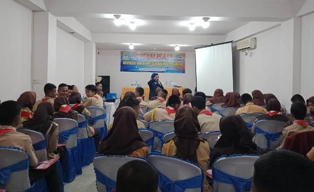 Photo of 80 Siswa SMA Kerinci Dibekali Advokasi KIE Moment Pramuka