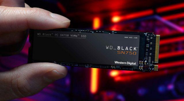 SSD WD Black SN750 (ist)