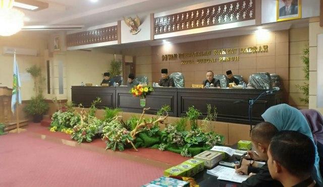Photo of Wako Sampaikan Pengantar Ranperda APBD Tahun 2020