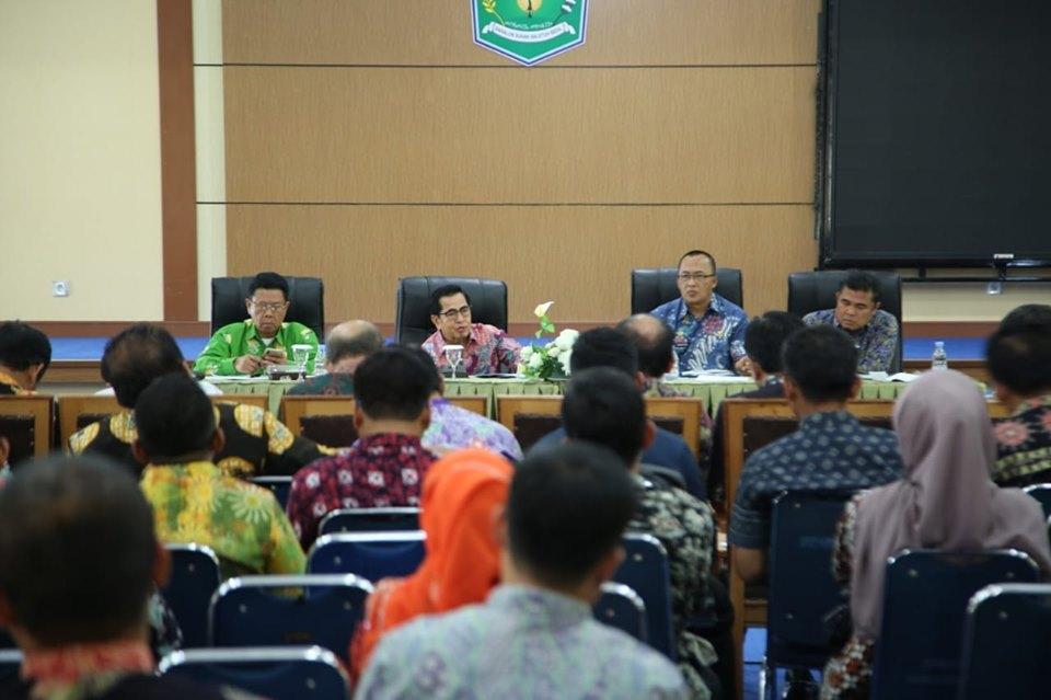 Photo of Wako Pimpin Rapat Evaluasi Realisasi APBD 2019