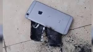 iPhone meledak lagi. Foto: Tuoitre