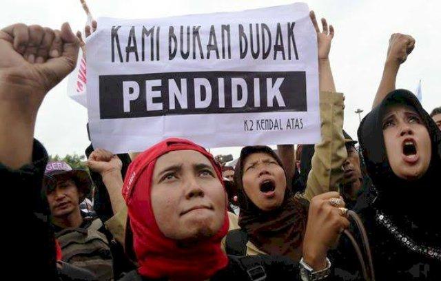 Photo of Belum Adanya Titik Terang Nasib Guru Honorer Lulus P3K