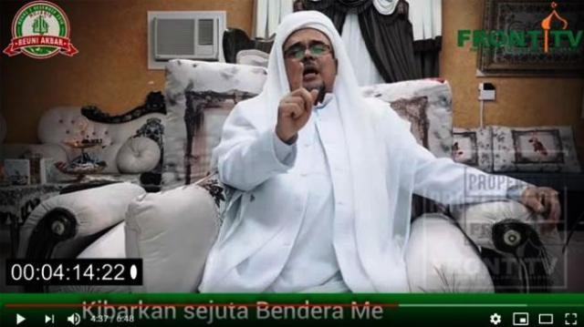 Photo of Habib Rizieq Berangkat Pulang Malam Ini