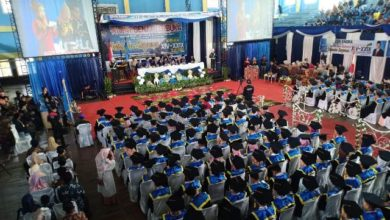 Photo of Hari Ini 214 Mahasiswa STIA Nusa Diwisuda
