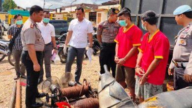Photo of Dua Penambang Minyak Ilegal Ditangkap Polres Batanghari
