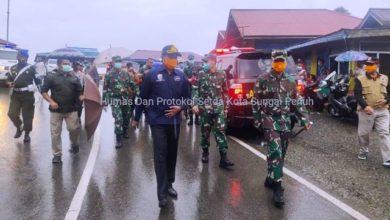 Photo of Sekda Munasri Dampingi Kunjungan Danrem 042/Gapu