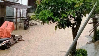 Photo of Dampak Banjir yang Melanda Desa Tanjung Pauh Mudik