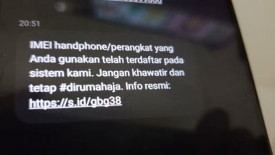 Photo of Waspada Jebakan SMS 'IMEI HP Tidak Terdaftar' dari Nomor Kominfo Palsu